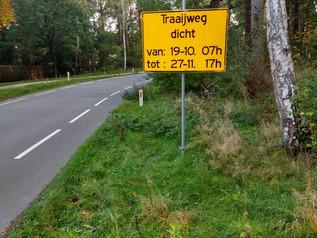 Verbouwing tunnel de Traaij Driebergen