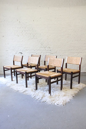 Set of 6 Dining Chairs by Cees Braakman for Pastoe