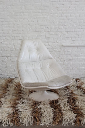 Vintage Swivel Lounge Chair, F511, by Geoffrey D. Harcourt for Artifort