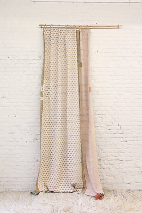 Kantha Curtain - soft toned I