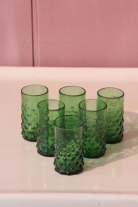 Set of 6 Syrian Bulbs glasses