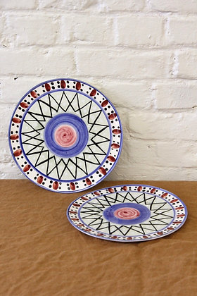 'The Grant' Dessert plates, 2 pcs