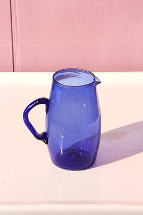 Blue Syrian Carafe, Simple