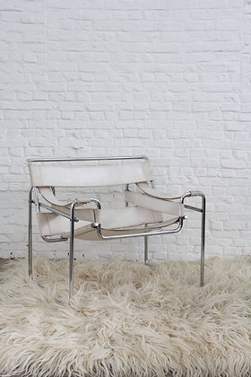 Wassily chair, by Marcel Breuer, '70