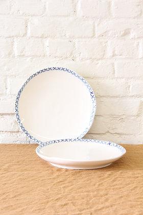 'The Grant' II Dinner Plates, 2 pcs