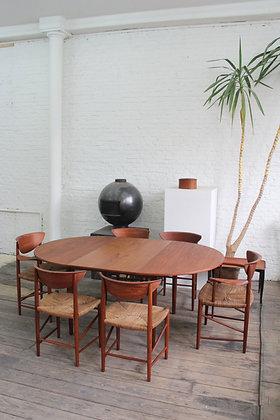 Dining set by P. Hvidt and O. Molgaard - Nielsen