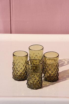 Set of 4 Syrian Bulbs glasses