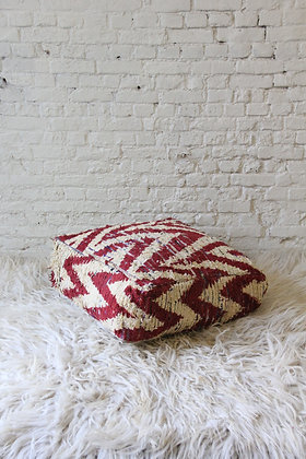 Red Pouf III