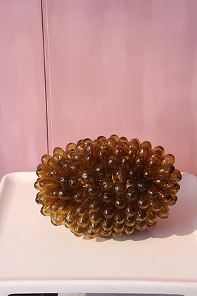 Amber Syrians Bulbs Lamp, large