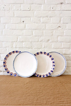 'The Grant' Dinner Plates, 4 pcs