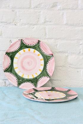 'The Bell' Dessert Plates, 2 pcs