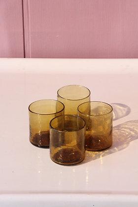 Set of 4 Syrian glasses