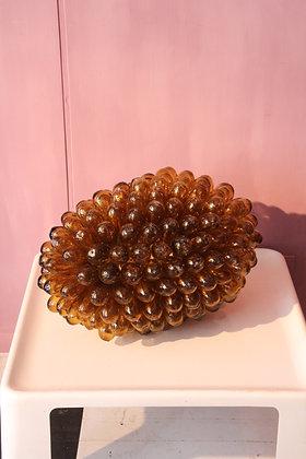 Amber Syrian Bulbs Lamp, XL