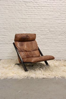 Leather Ueli Berger Lounge Chair for De Sede