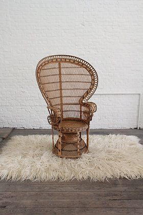 Very decorative rattan 'Emanuelle chair', '50