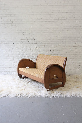 Small Colonial bench, Indonesian, '50s
