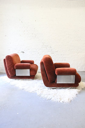 Pair of Vintage Lounge Chairs ('70)