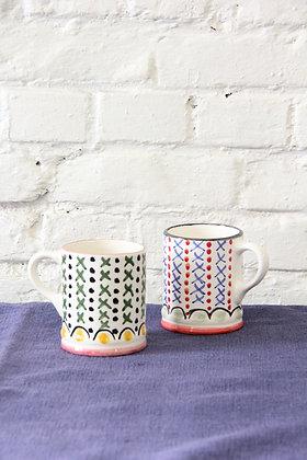 'Grant & Bell' Mugs, 2 pcs