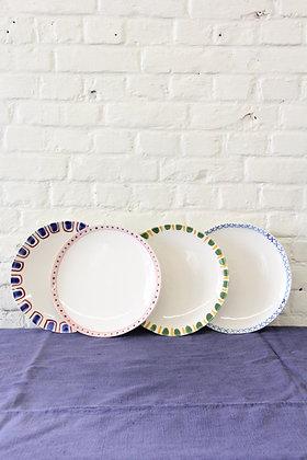 'Grant & Bell' Dinner Plates, 4 pcs