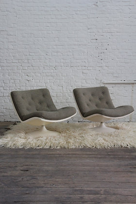 Pair of Lounge chairs by G. Harcourt