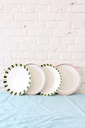'The Bell' Dinner Plates, 4 pcs