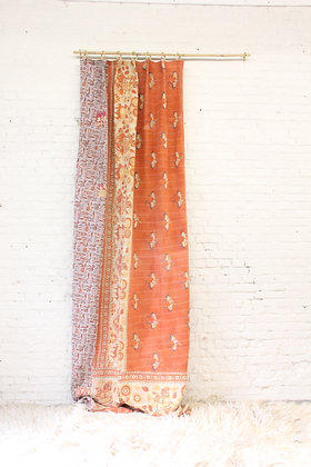 Kantha Curtain - Colourful VI