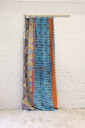 Kantha curtain - Colourful I