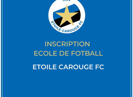 Inscription Ecole de Football