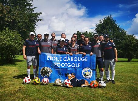 1er titre en équipe pour Etoile Carouge Footgolf!