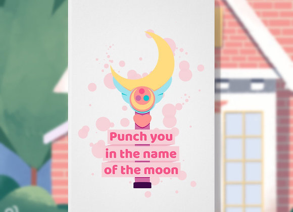 Caderneta Punch You in The Name of The Moon