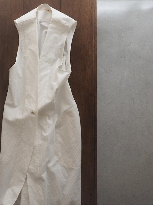 #350-36 綿麻ロングジレ