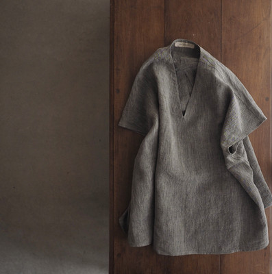 FRENCH SLEEVE PULLOVER SHIRT