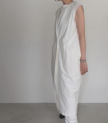 cotton linen long vest