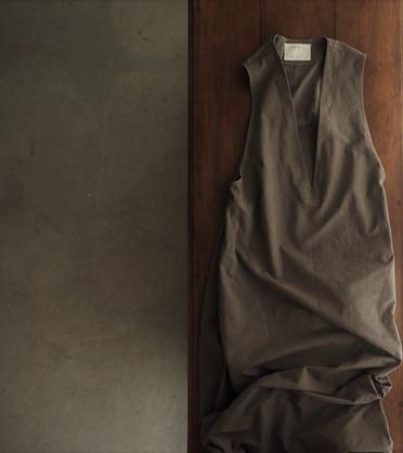 コットンジャンパースカート