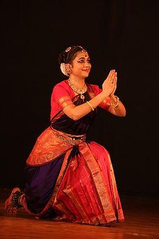 Pavithra Srinivasan yoga dance