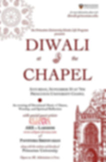Diwali at the Chapel Pavithra Srinivasan