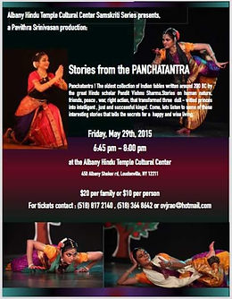 Pavithra Srinivasan Dance Panchatantra