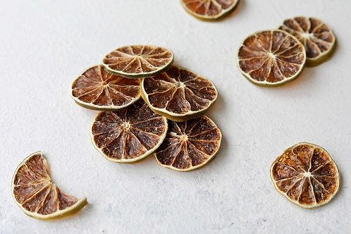 Limón en rodajas