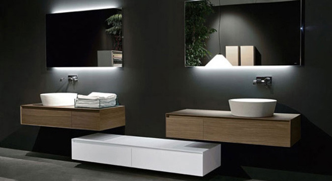 Beautiful Salle De Bain Design Contemporain Contemporary - House ...