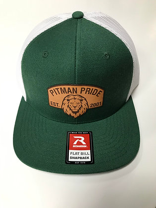 Pitman Patch Flat Bill Trucker Hat - PP356