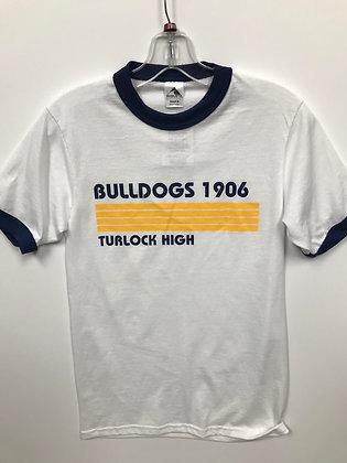 Turlock Bulldogs 1906 Ringer Tee - TB531