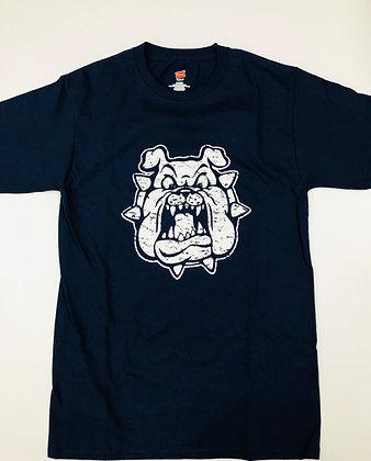 Turlock Bulldog Face Tee - TB212