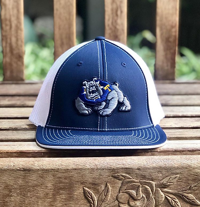 Turlock Bulldogs Puff Mesh Hat - TB599