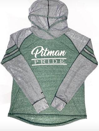Pitman Pride Women's Long Sleeve Thin Hoodie - PP308