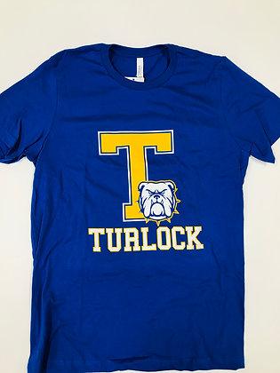 Turlock Block T Royal Tee - TB590