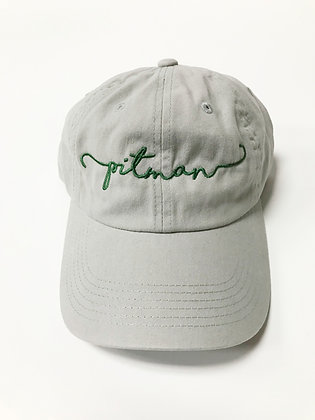 Pitman Script Dad Hat - PP290