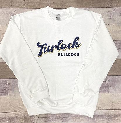 Turlock Bulldogs Glitter Crewneck - TB584 & TB556