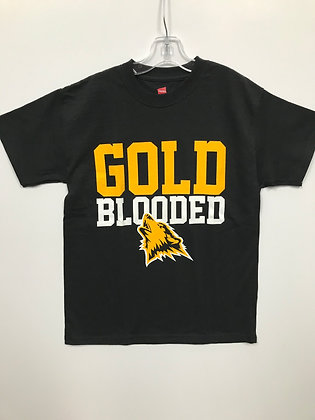 Hughson Gold Blooded Youth Tee - HH045