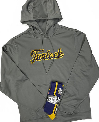 Turlock Tackle Twill Performance Hoodie - TB586