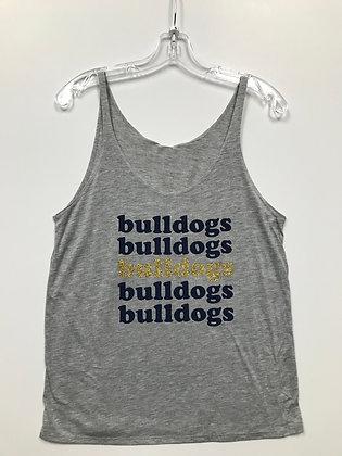 Turlock Glitter Bulldogs Women's Tank - TB570